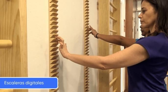 Centro de Rehabilitación Física en los nervios de las manos
