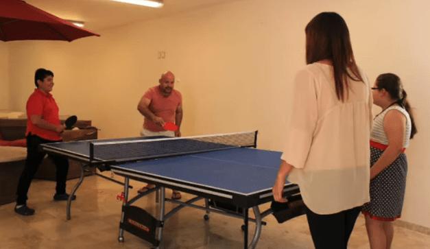 Centro de Rehabilitación de alcoholismo haciendo deporte