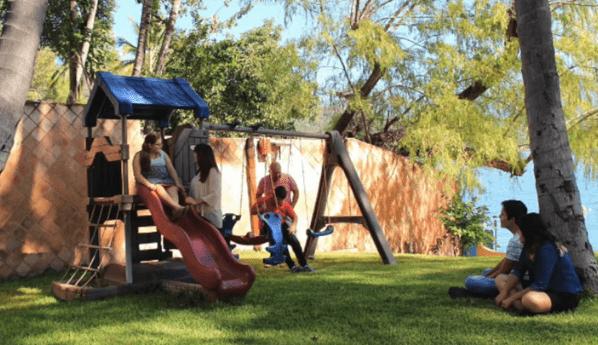foto de un parque de un Centro de Rehabilitación de alcoholismo