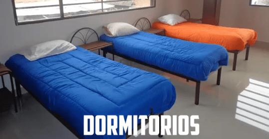 dormitorios en un Centro de Rehabilitación para Mujeres