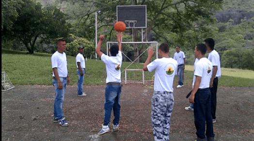 campo de deporte en centro de rehabilitación cristiano