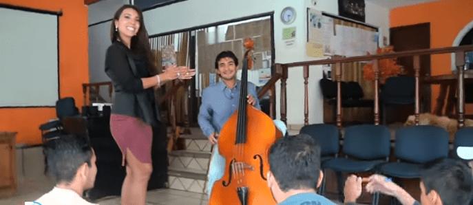 centro de rehabilitación para drogadictos enseñanza de musica